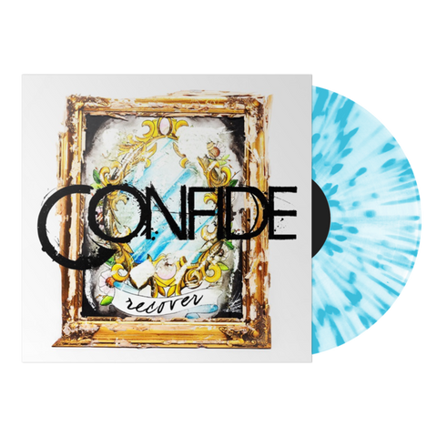 Confide - Recover (Deluxe Edition White w/ Blue Splatter Vinyl LP x/100 + CD)