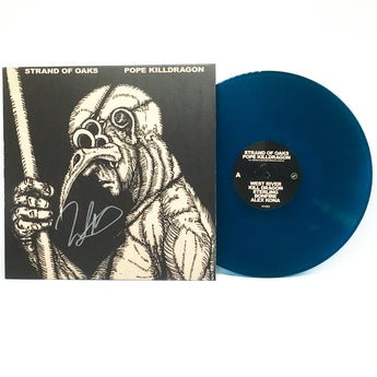 Strand Of Oaks - Pope Killdragon (Limited Edition Autographed Susquehanna River Blue Vinyl LP)