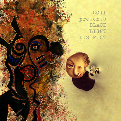 Coil - Presents Black Light District: A Thousand Lights In A Darkened Room (Limited Edition Clear Vinyl 2xLP x/200)