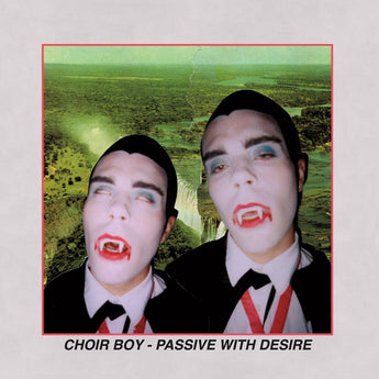 Choir Boy - Passive With Desire (Limited Edition Clear w/ Red & Black Splatter Vinyl LP x/100) - Rare Limiteds