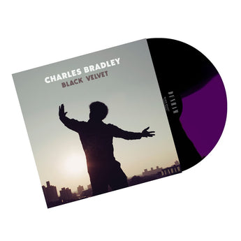 Charles Bradley - Black Velvet (Limited Edition Quad Black & Purple Vinyl LP) - Rare Limiteds