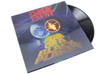 Public Enemy - Fear Of A Black Planet (3D Lenticular Cover Vinyl LP) - Rare Limiteds