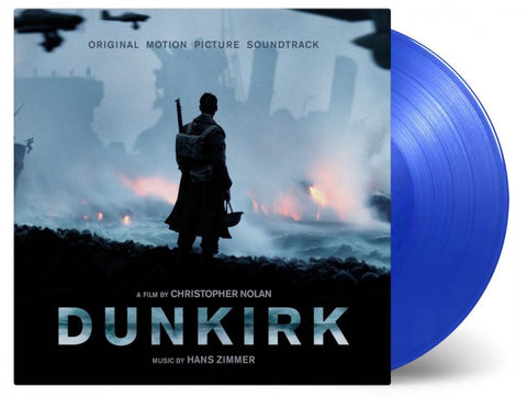 Hans Zimmer - Dunkirk [Original Motion Picture Soundtrack] (Limited Edition 180-GM Blue Vinyl 2xLP x/4000) - Rare Limiteds