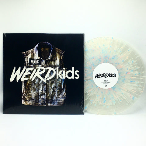 We Are The In Crowd - Weird Kids (Limited Edition Clear w/ Pink, Blue & Green Splatter Vinyl LP x/1000)
