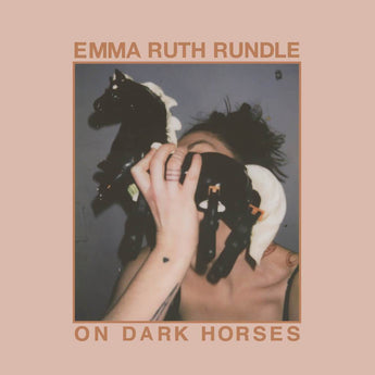 Emma Ruth Rundle - On Dark Horses (Limited Edition Clear w/ Pale Pink Splatter Vinyl LP)