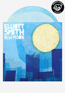 Elliott Smith - New Moon (Newbury Comics Exclusive Blue & White Cloudy Vinyl 2xLP x/500)