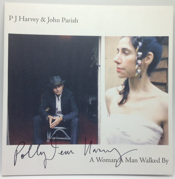 PJ Harvey & John Parish - A Woman A Man Walked By (Limited Edition Autographed 180-GM Vinyl LP)