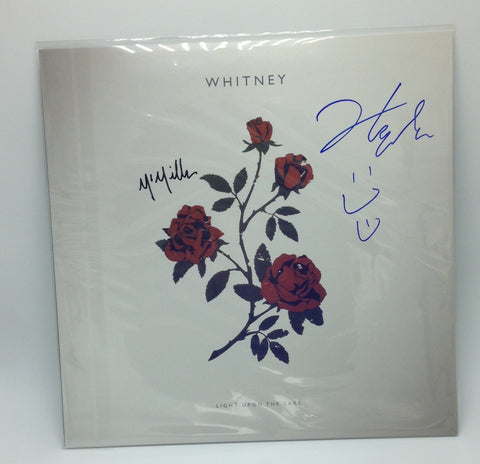 Whitney - Light Upon The Lake (Autographed Red Vinyl LP)
