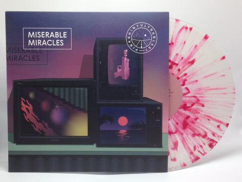 "Pinkshinyultrablast - Miserable Miracles (Rough Trade Exclusive ""Polka Dot Madness"" Edition Vinyl LP x/100) - Rare Limiteds"