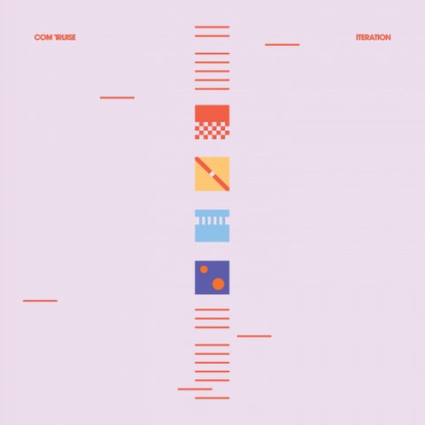 Com Truise - Iteration (Limited Edition Blue / White Split Vinyl 2xLP x/3000 + Digital Download)
