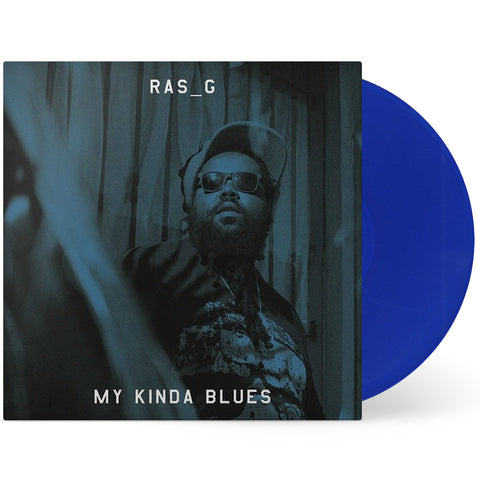 Ras_G - My Kinda Blues (Fat Beats Exclusive Blue Vinyl LP x/100)