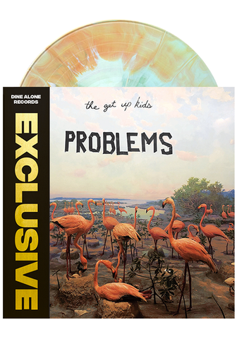 The Get Up Kids - Problems (Dine Alone Exclusive Pink / Blue / Beige Swirl Vinyl LP x/100)