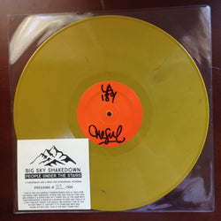 "People Under The Stairs - Big Sky Shakedown (Limited Edition Hand-Numbered #189/500 Autographed Yellow 12"" Vinyl - Los Angeles Thanksgiveback) - Rare Limiteds"