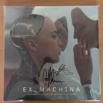 Ben Salisbury & Geoff Barrow - Ex Machina [Original Motion Picture Soundtrack] (Limited Edition Autographed 180-GM Vinyl 2xLP x/50) - Rare Limiteds