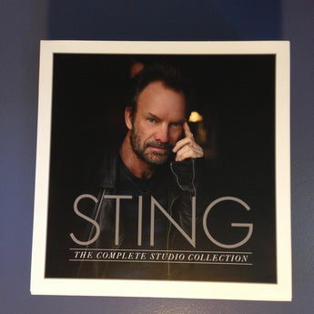 Sting - The Complete Studio Collection (Limited Edition 16 x 180-GM Vinyl LP Box Set) - Rare Limiteds
