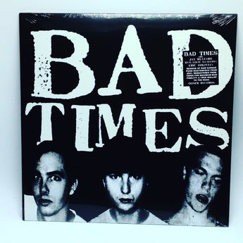 Bad Times - Bad Times [Self-Titled] (Limited Edition Clear Vinyl LP x/200) - Rare Limiteds