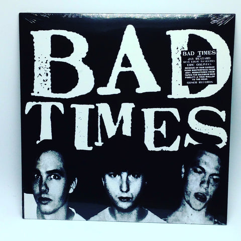 Bad Times - Bad Times [Self-Titled] (Limited Edition Clear Vinyl LP x/200)