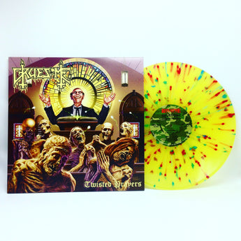 "Gruesome - Twisted Prayers (Limited Edition ""Stained Glass Splatter"" Vinyl LP x/500) - Rare Limiteds"