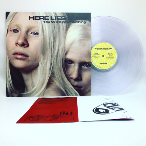 Here Lies Man - You Will Know Nothing (Deluxe Edition Clear Vinyl LP + Booklet x/100)