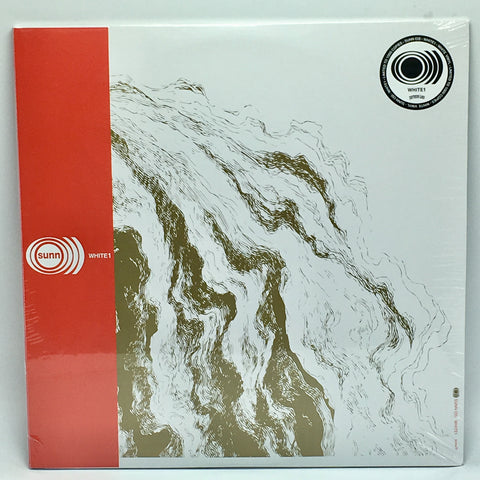 Sunn O))) - White1 (2018 Remastered Edition 180-GM White Vinyl 2xLP x/1000)