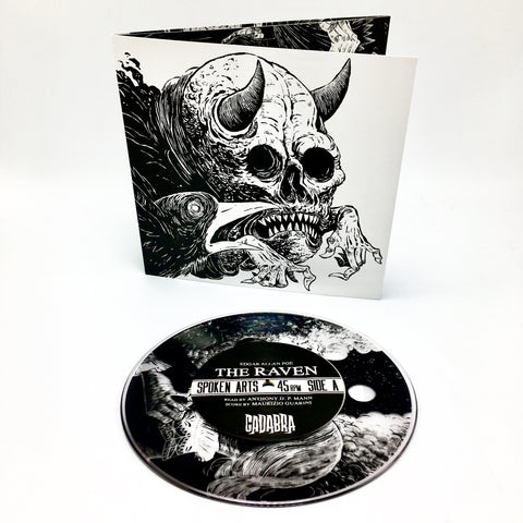 "Edgar Allen Poe - The Raven (Lenore Variant Edition Clear 7"" Vinyl x/80)"