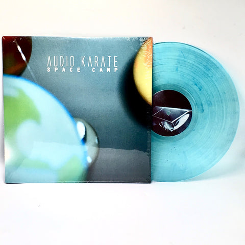 "Audio Karate - Space Camp (Limited Edition Electric Blue ""Teal"" Vinyl LP) - Rare Limiteds"