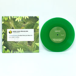 "Weezer - Africa (Urban Outfitters Exclusive Green 7"" Vinyl x/1500)"