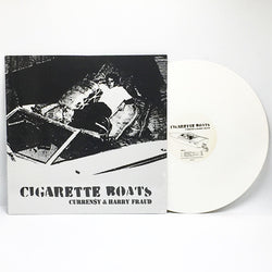 "Curren$y & Harry Fraud - Cigarette Boats (Limited Edition White 12"" Vinyl EP) - Rare Limiteds"