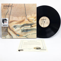 Brian Eno - Ambient 4: On Land (Abbey Road Half-Speed Mastered 180-GM Vinyl 2xLP - Autographed Sleeve) - Rare Limiteds