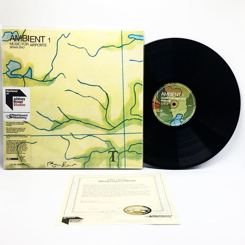 Brian Eno - Ambient 1: Music For Airports (Abbey Road Half-Speed Mastered 180-GM Vinyl 2xLP - Autographed Sleeve) - Rare Limiteds
