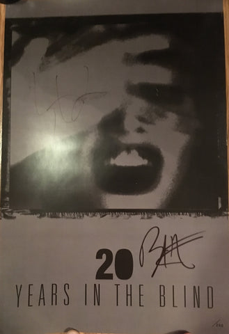 Third Eye Blind - 20 Years In The Blind (Limited Edition Autographed Poster x/200)