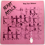 "Heart Attack - Keep Your Distance (Limited Edition 12"" Vinyl EP - OG 1983 Pressing)"