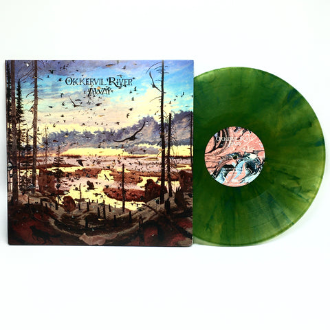 Okkervil River - Away (Limited Edition Clear Blue / Yellow Swirl Vinyl 2xLP x/500)