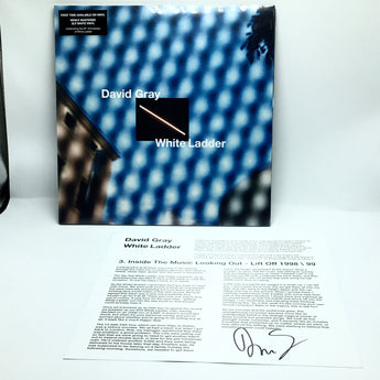 David Gray - White Ladder (Autographed 20th Anniversary Edition White Vinyl 2xLP)