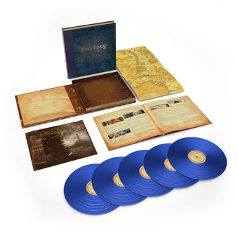 Howard Shore - The Lord of The Rings: The Towers Towers [The Complete Recordings] (Numbered Edition Blue Vinyl 5xLP Box Set x/8000) - Rare Limiteds