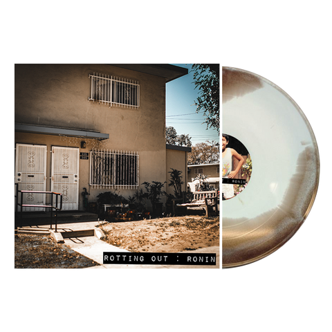 Rotting Out - Ronin (Purenoise Webstore Exclusive Bone, Brown & White Colored Vinyl LP x/200)