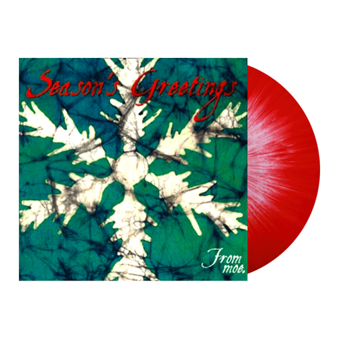 moe. - Season's Greetings (Limited Edition Red w/ White Splatter Vinyl LP x/1000)