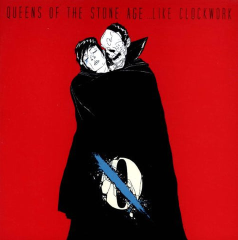 Queens of The Stone Age - ...Like Clockwork (Newbury Comics Exclusive Red Vinyl 2xLP x/750) - Rare Limiteds