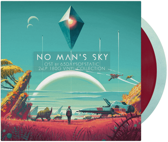 65daysofstatic - No Man's Sky [Soundtrack] (180-GM Light Blue + Dark Red Vinyl 2xLP)
