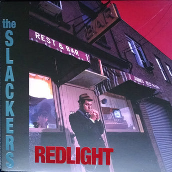 The Slackers - Redlight (20th Anniversary Limited Edition Clear w/ Oxblood, Cyan, & White Splatter Vinyl LP x/250 + Digital Download) - Rare Limiteds