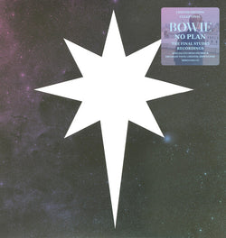 "David Bowie - No Plan (Limited Edition Clear / Blue Marble 12"" Vinyl EP)"