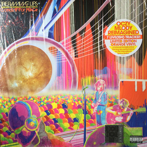 The Flaming Lips  - Onboard The International Space Station Concert For Peace (Limited Edition Orange Vinyl LP x/1700)