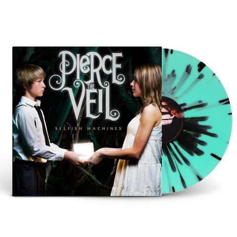 Pierce The Veil - Selfish Machines (Limited Edition Glow-In-The-Dark w/ Black Splatter Vinyl LP)