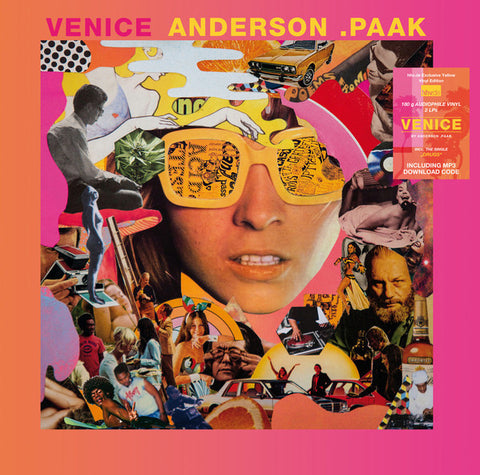 Anderson .Paak - Venice (Limited Edition 180-Gram Yellow Vinyl 2xLP x/300 + Digital Download)