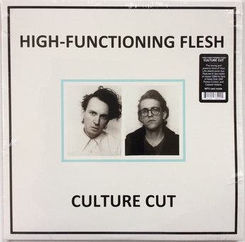 High-Functioning Flesh - Culture Cut (Limited Edition Clear Blue Vinyl LP x/100) - Rare Limiteds