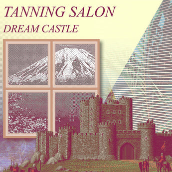 Tanning Salon - Dream Castle (Limited Edition Blue Vinyl 2xLP) - Rare Limiteds