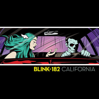 Blink-182 - California (Deluxe Hand-Numbered Pop-Up Edition 180-Gram Turqoise Marble Vinyl 2xLP x/182)