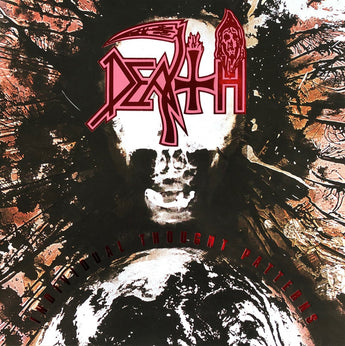 Death - Individual Thought Patterns (Limited Edition Purple & Pink Merge w/ White + Black Splatter Vinyl LP x/300)