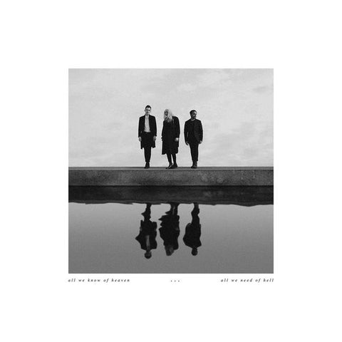 PVRIS - All We Know of Heaven, All We Need of Hell (Band EU Webstore Exclusive Smoke Colored Vinyl LP x/300) - Rare Limiteds