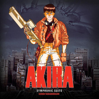 Geinoh Yamashirogumi - Symphonic Suite Akira Soundtrack (Limited Edition Clear w/ Red Splatter Vinyl 2xLP x/400 + Digital Download)